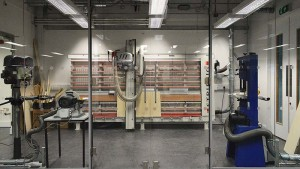 The new laboratory will prepare students for the challenges and versatility of digital fabrication in the 21st century